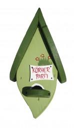 Futterblatt Körnerparty hellgrün