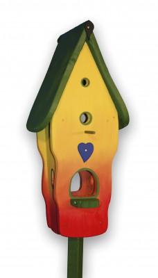 Villa klein Regenbogen, grünes Dach