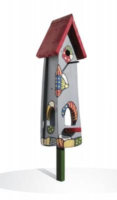 Kombiniertes Vogelhaus - Minivilla 2 Das Vogelvillahaus (Edition 2008)