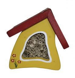 Insektenstübchen Wandmontage, gelb