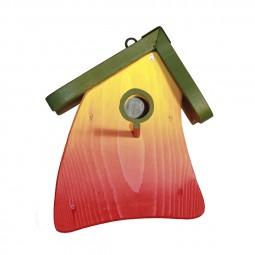 Nistmini Regenbogen, grünes Dach