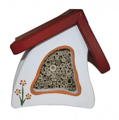 Insektenstübchen Wandmontage, weiß