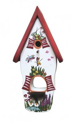 Minivilla 1 spezial Gartenzauber weiß