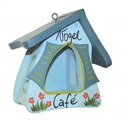 Futterhaus - Futtermini Hobbit Vogelcafe & bei uns piept´s