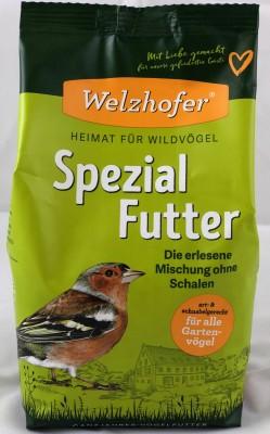 Welzhofer Spezial-Futter - Die erlesene Mischung ohne Schalen 1 Kg