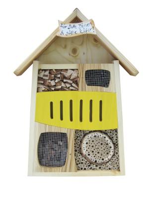 """Insektenhaus """"Insektenquartier Für flotte Bienen & süße Käfer"""""""
