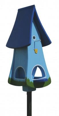 Turmvilla Tulpe, hellblau