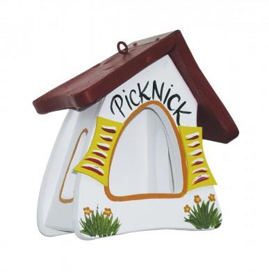 Futterhaus - Futtermini Picknick weiß