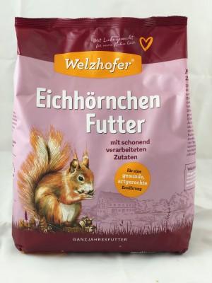 Welzhofer Eichhörnchen Futter 3,5 Kg - Mit artgerechten Zutaten
