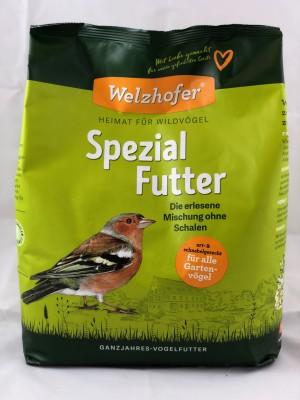 Welzhofer Spezial Futter - Die erlesene Mischung ohne Schalen 4 Kg