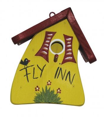 Nistkasten - Nistmini Fly Inn gelb