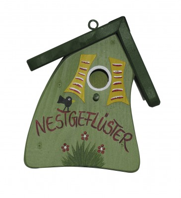Nistkasten - Nistmini Nestgeflüster hellgrün