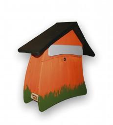 Postvilla gross, orange