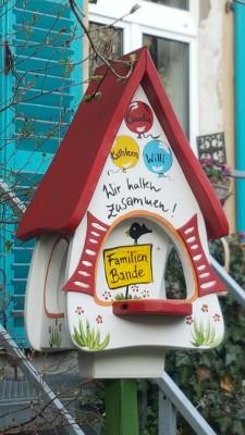Futterhaus mit Silo - Futtervilla klein Wir halten zusammen