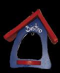 Futterschaukel Bistro klassikblau