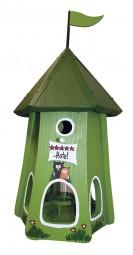 Turmhotel klein 5 Sterne Eulen mit Silo kiwi