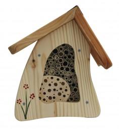 Insektenvilla Mini Wandmontage, natur