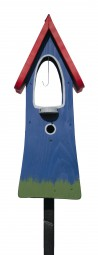 Glockenturm, blau