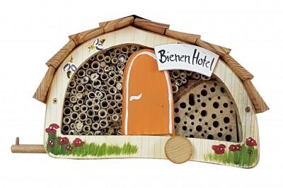 """Bienenhotel """"Womo Bienen Hotel"""" mit Lamellendach"""