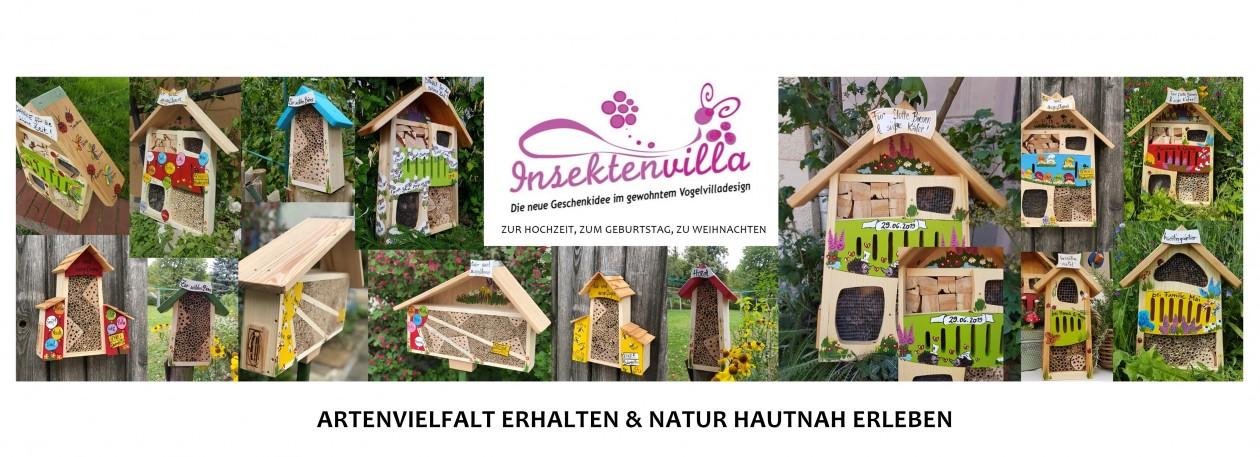 Dekoration aus Holz NEU! Vogelvilla Vogelhaus für Garten