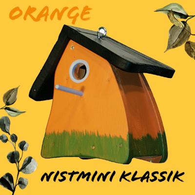 Prämienartikel Nistkasten - Nistkasten Nistmini Klassik orange