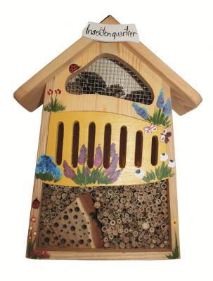 "Insektenhaus ""Insektenquartier klein bemalt"""