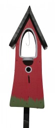 Glockenturm, rot