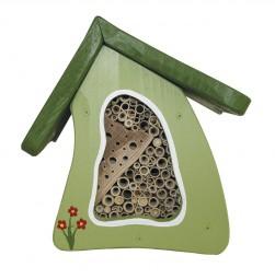 Insektenvilla Mini Wandmontage, hellgrün