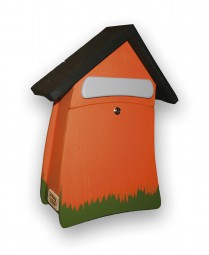 Postvilla mittel, orange