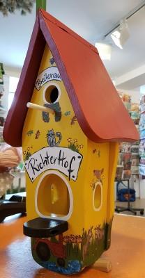 """Minivilla 1 """"Hoffest"""" gelb - personalisiert"""