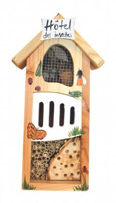 """Insektenhaus """"Insektenhotel klein bemalt"""""""
