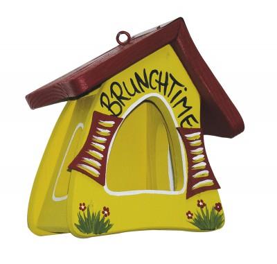 Futterhaus - Futtermini Brunchtime gelb