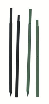 Stange 1,30 m, kurz, dick, grün