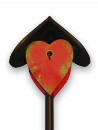 Herz klein rot