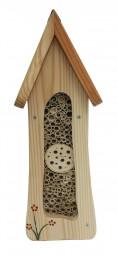 Insektentürmchen Wandmontage, natur