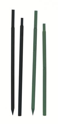 Minivilla Stange 1,80 m, lang, dünn, schwarz