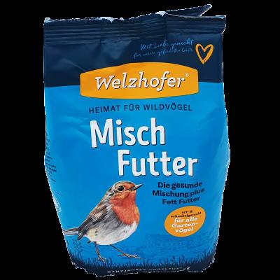 Welzhofer Misch-Futter - Die gesunde Mischung plus Fett Futter 1 Kg