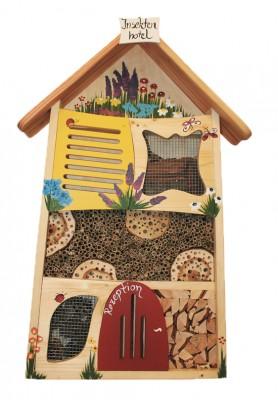 """Insektenhaus """"Insektenhotel bemalt"""" groß"""