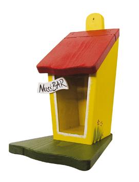 futterhaus nussbar f r eichh rnchen klein die vogelvilla. Black Bedroom Furniture Sets. Home Design Ideas