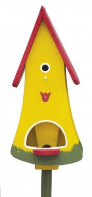 Turmvilla Tulpe, gelb