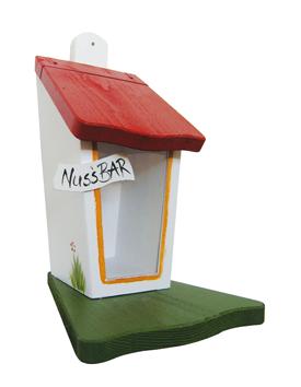 """Futterhaus """"Nussbar für Eichhörnchen"""" klein"""