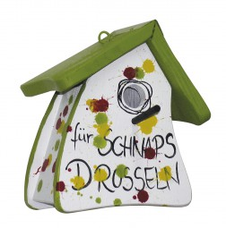 Nistmini spezial für Schnapsdrosseln grünes Dach
