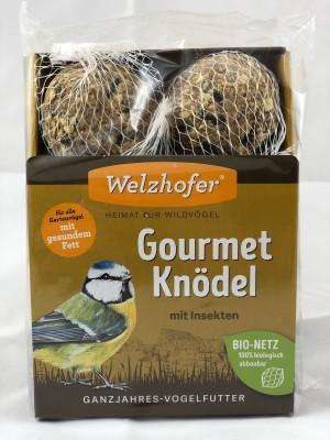 Welzhofer Gourmetknödel mit Insekten 6 Stk. á 100g