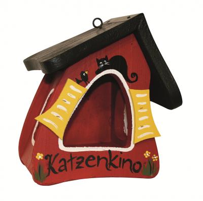 """Futterhaus """"Futtermini Katzenkino"""""""