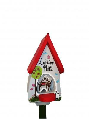 Futterhaus mit Silo - Futtervilla mini Lieblingsplatz