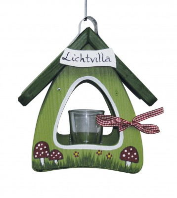 Lichtvilla Mini Pilze hellgrün