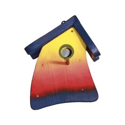 Nistmini Regenbogen, blaues Dach