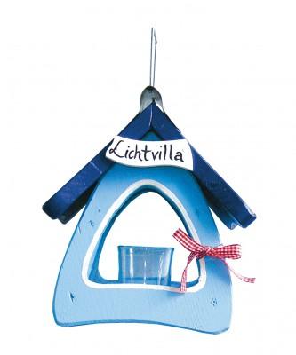 Lichtvilla mini, hellblau