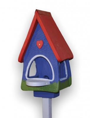 Futterhaus mit Silo - Futtervilla klein Klassik