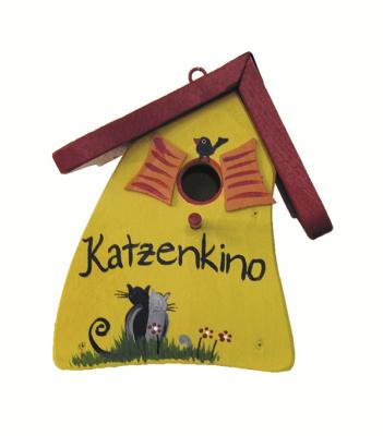 "Nistkasten ""Nistmini Katzenkino"""